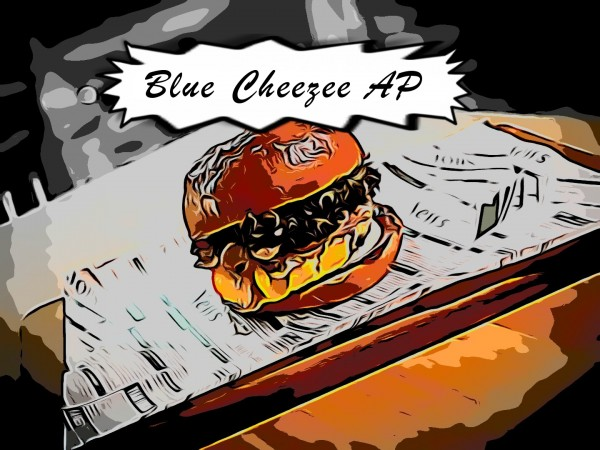 Blue Cheezee AP Burger
